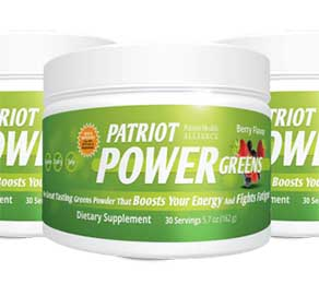 Patriot Power Greens cannisters